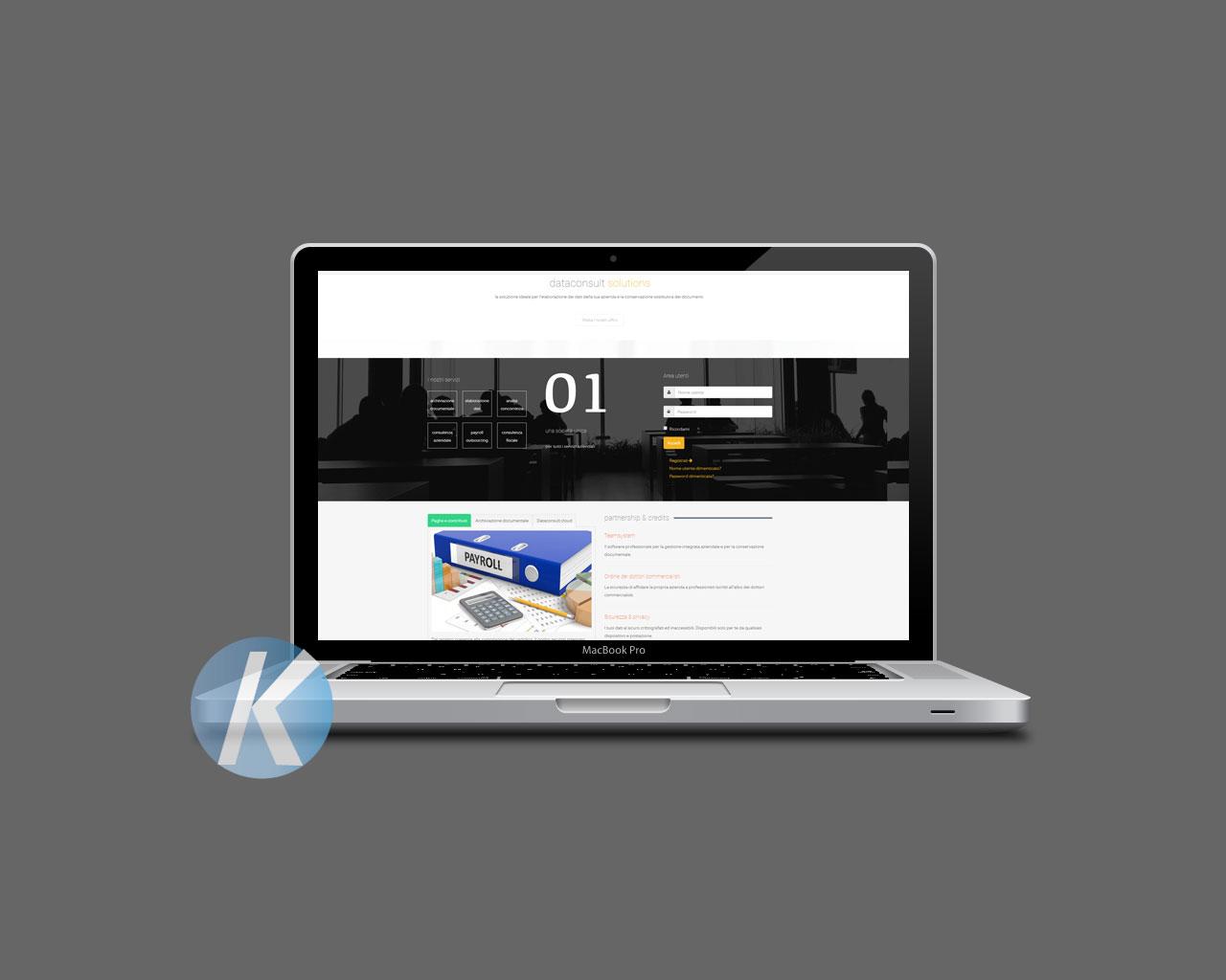Progettazione e sviluppo del sito
